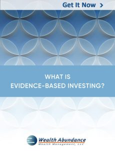 What is Evidence-Based Investing cover
